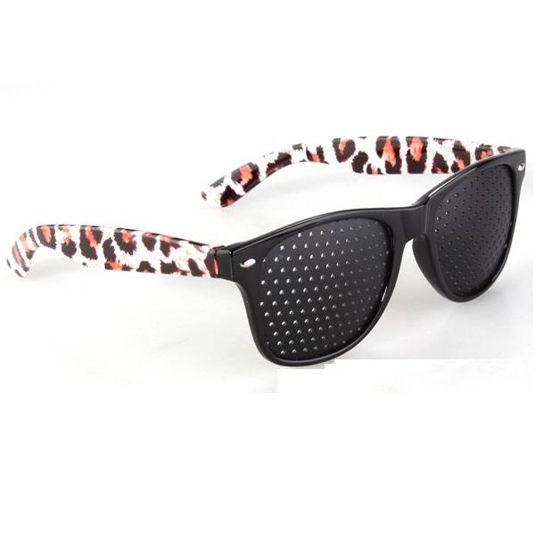 rasterbril wayfarer leopard