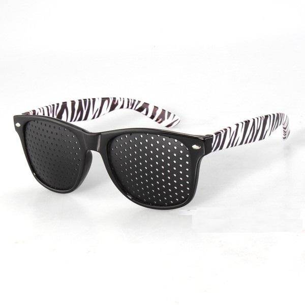 rasterbril wayfarer zebra