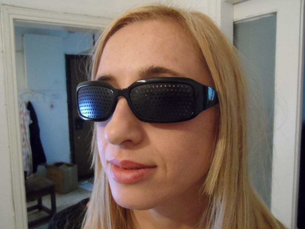 sportive pinhole glasses