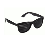 Rasterbril wayfarer zwart
